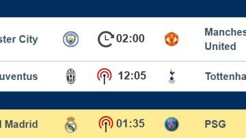 El calendario de la International Champions Cup