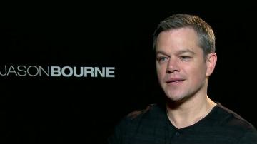 Matt Damon presenta 'Jason Bourne' en España