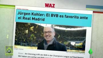 El Dortmund se ríe del Real Madrid