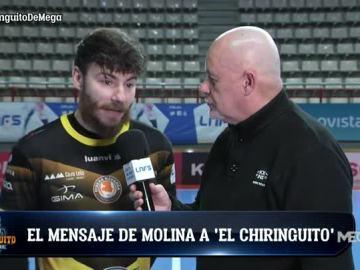 El mensaje de Molina a El Chiringuito