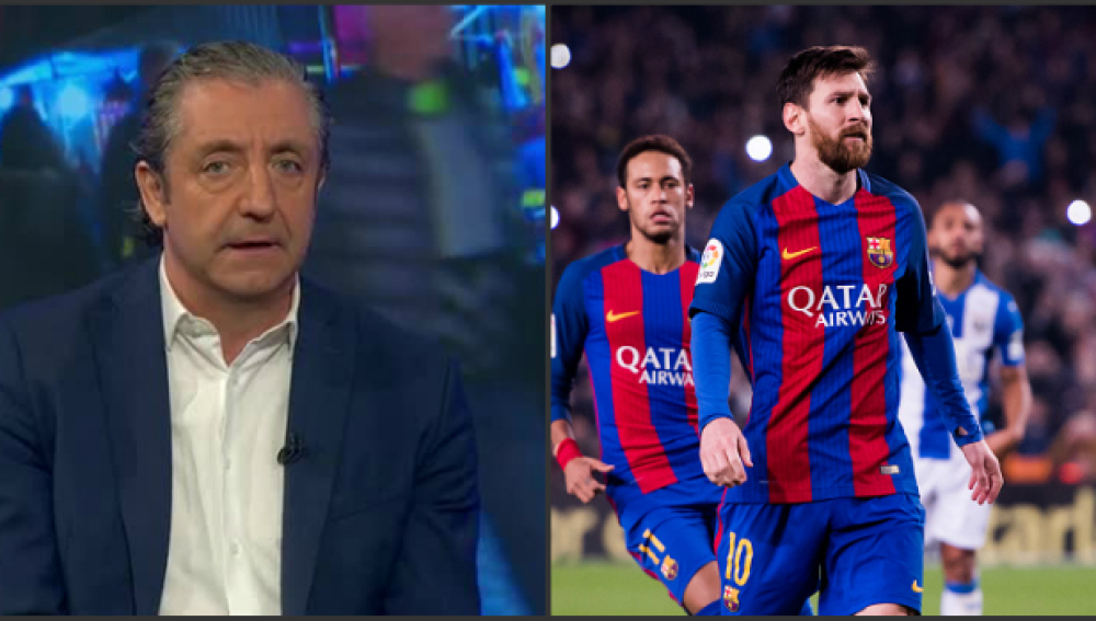 Josep Pedrerol y Messi