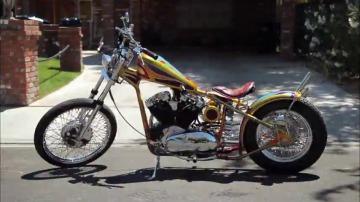Una moto femenina a medida