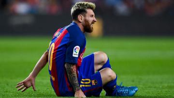 Messi, fuera de combate tres semanas