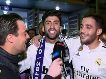 La 'Puerta 55' tras el empate del Villarreal en el Bernabéu