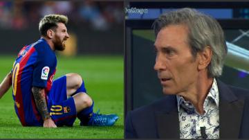Messi y Lobo Carrasco