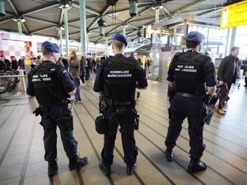 Policía Bruselas