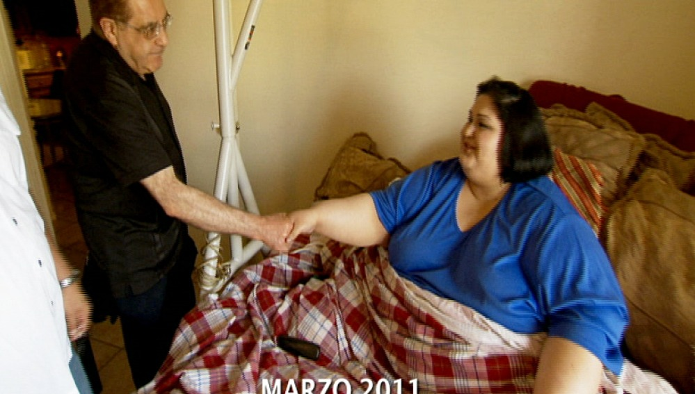 Mayra supera el límite de peso establecido para pacientes en EEUU