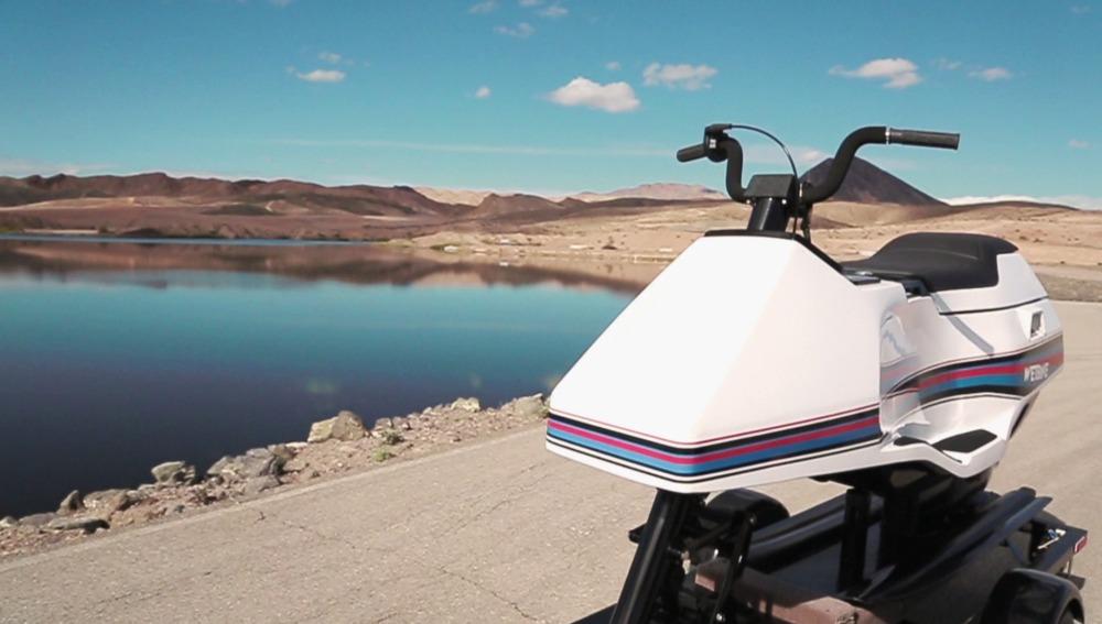 Una de las primeras motos de agua de la historia totalmente restaurada