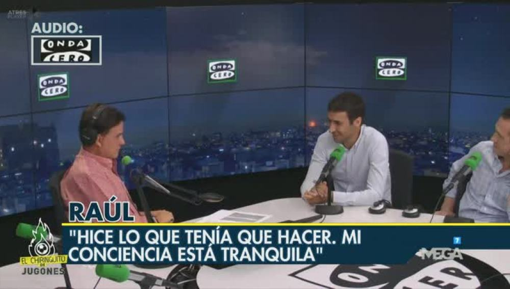 Raúl en 'El Transistor'