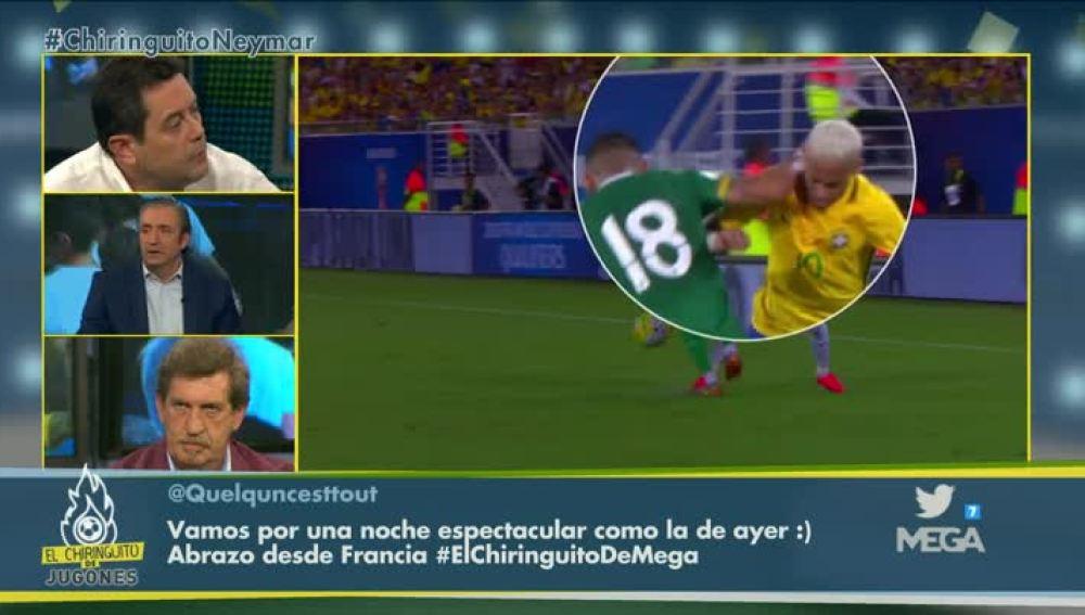 Debate de Neymar