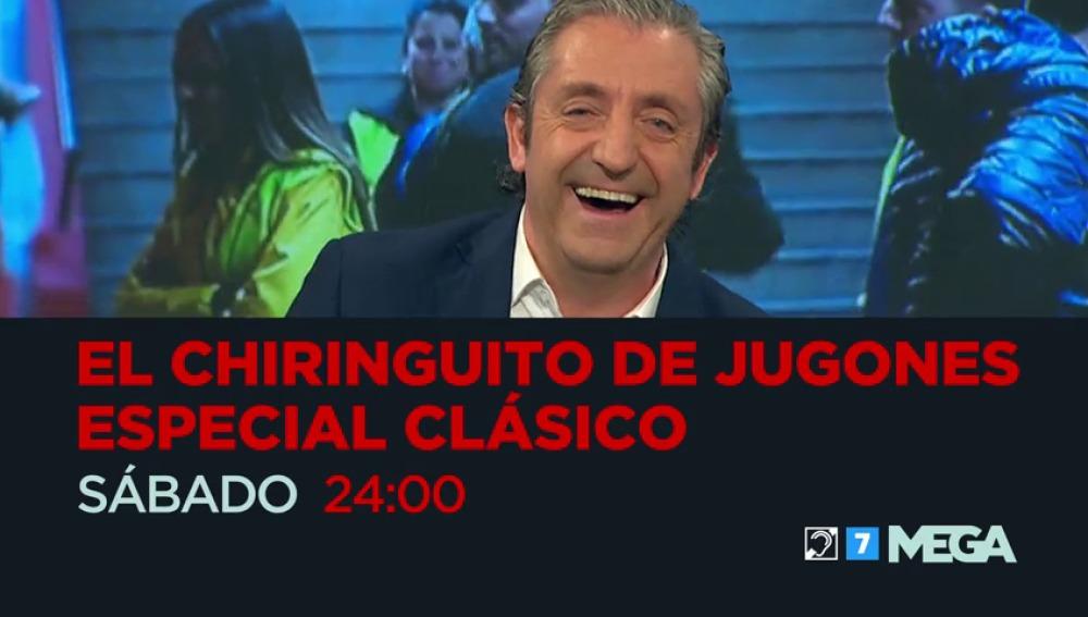 Frame 18.373088 de: Especial 'Clásico' en El Chiringuito de Jugones