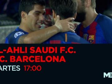 El Al-Ahli - Barcelona se juega en Mega