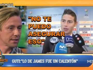 Guti, sobre James Rodríguez