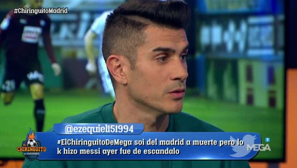 Álvaro Benito, sobre el Real Madrid