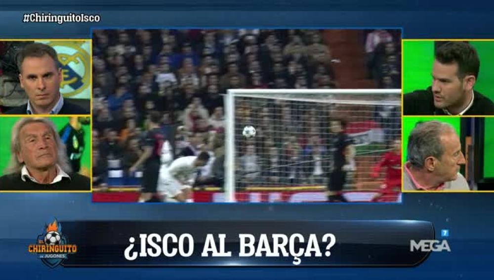 ¿Se irá Isco al Barça?