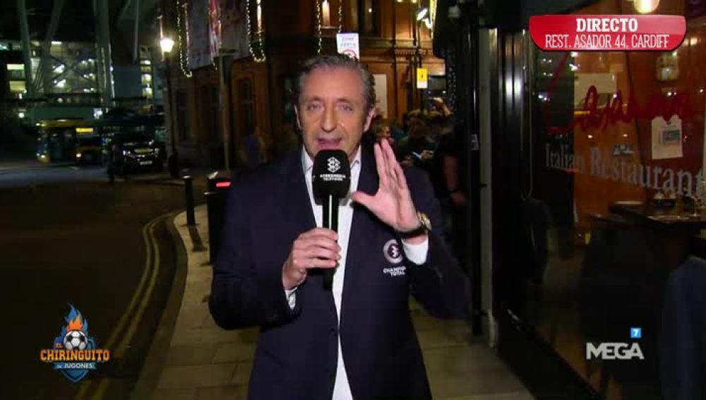 Josep Pedrerol, en directo