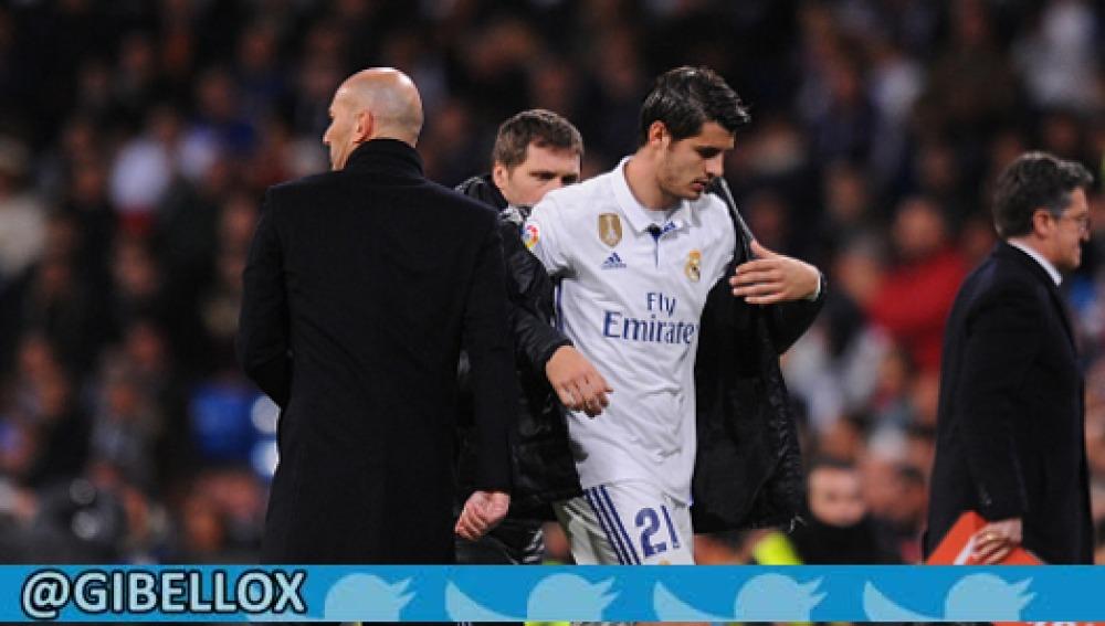 Zidane y Morata