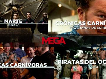 Los nuevos estrenos que llegan a MEGA