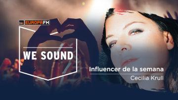 Cecilia Krull, la influencer de la semana en We Sound