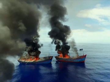 Piratas del océano