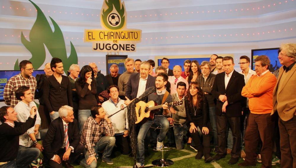Foto de familia del Chiringuito