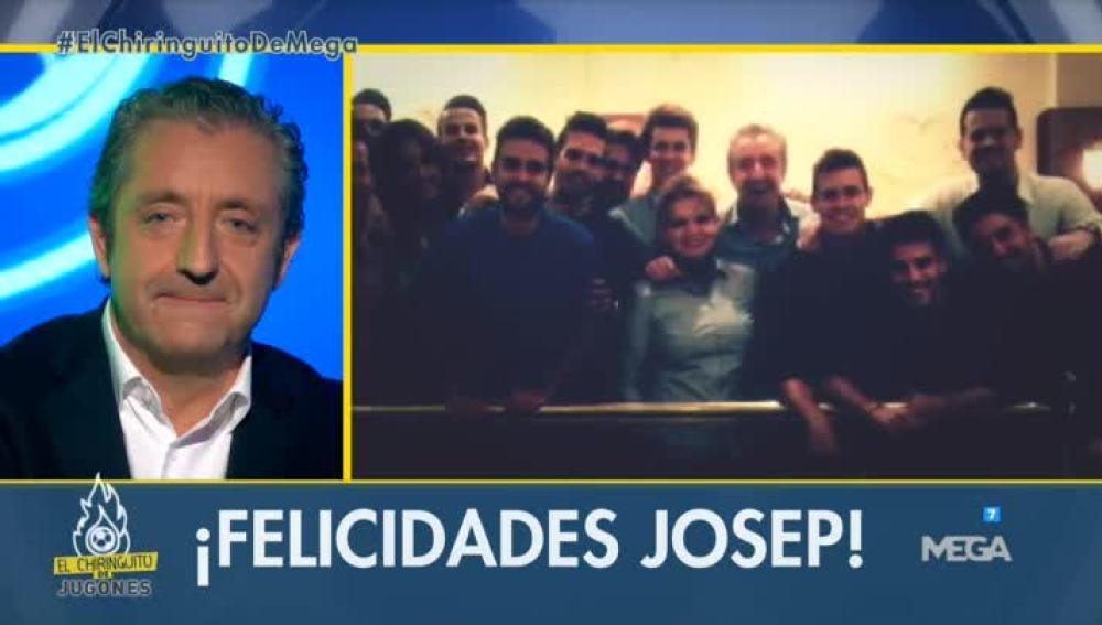 Josep Pedrerol felicitación