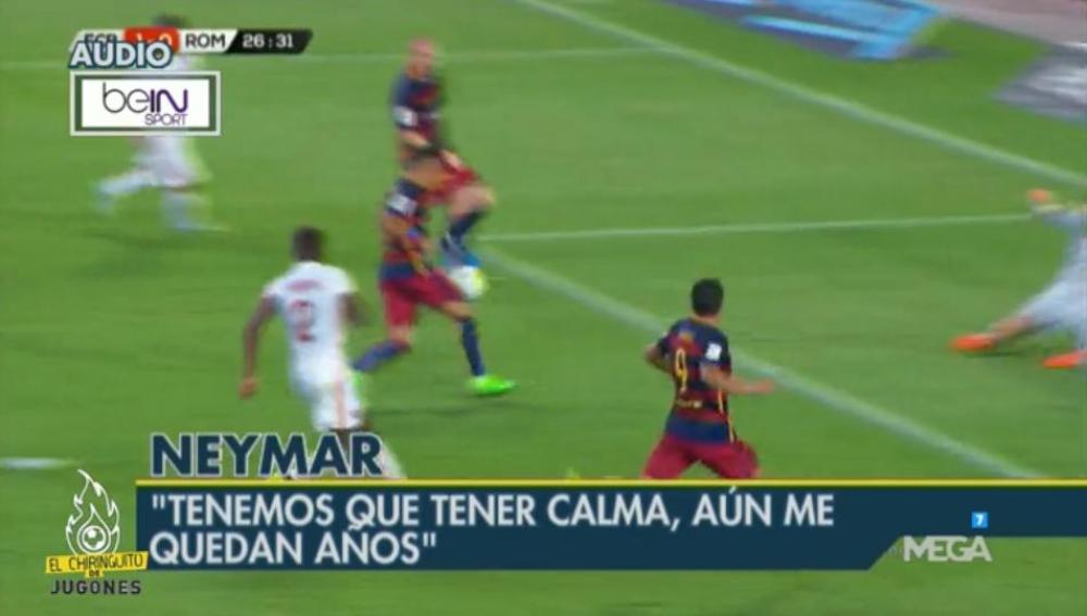 Neymar entrevista audio BeIN Sports