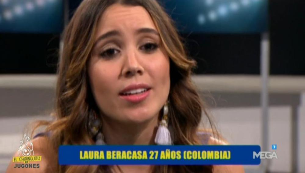 Laura Beracasa en El Chiringuito