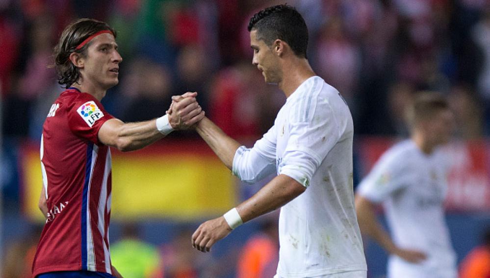 Filipe y Cristiano Ronaldo