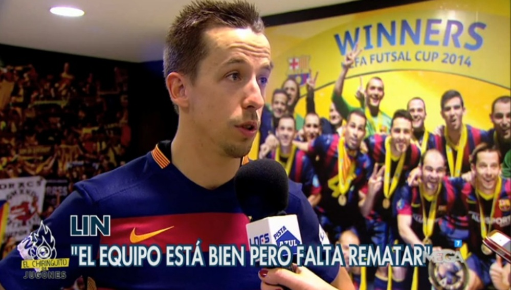 Lin, del Barça