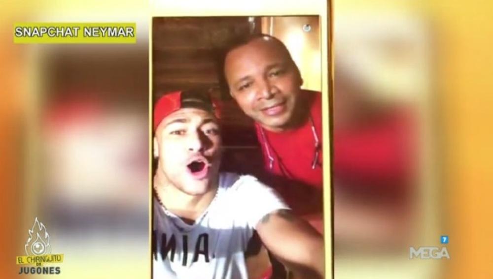El Snapchat de Neymar