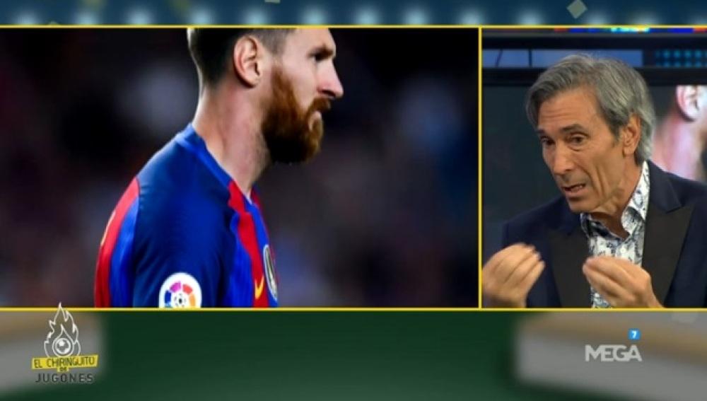 Lobo sobre Messi