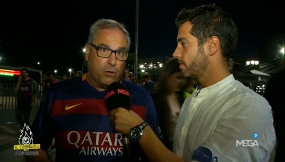 Encuesta lesión Messi