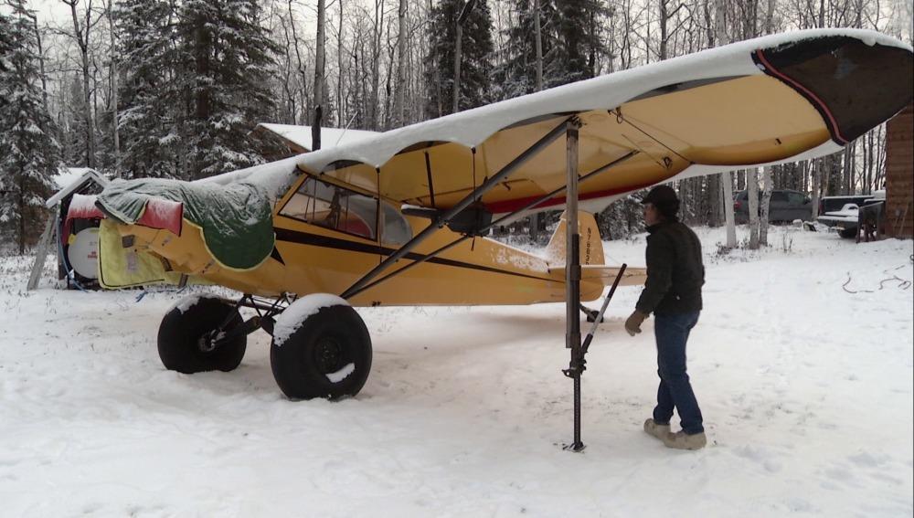 Alaska se prepara para un duro invierno
