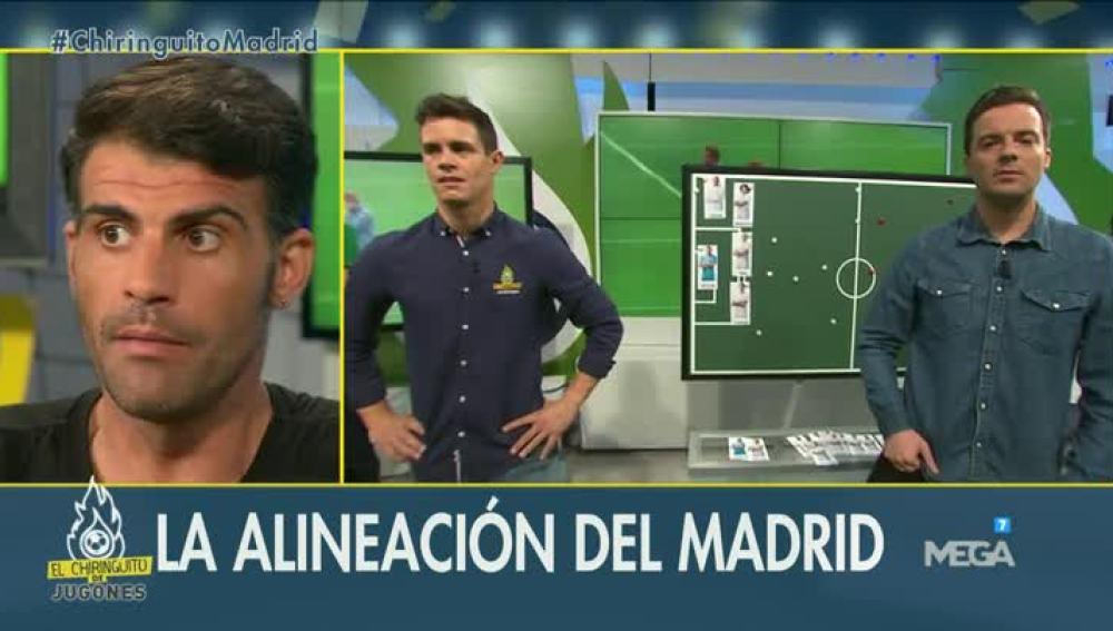 La alineación del Madrid frente al Legia
