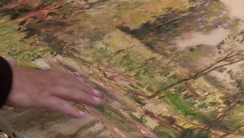 Frame 48.610774 de: Los Harrison se enfrentan a la posibilidad de comprar un cuadro verdadero de Monet