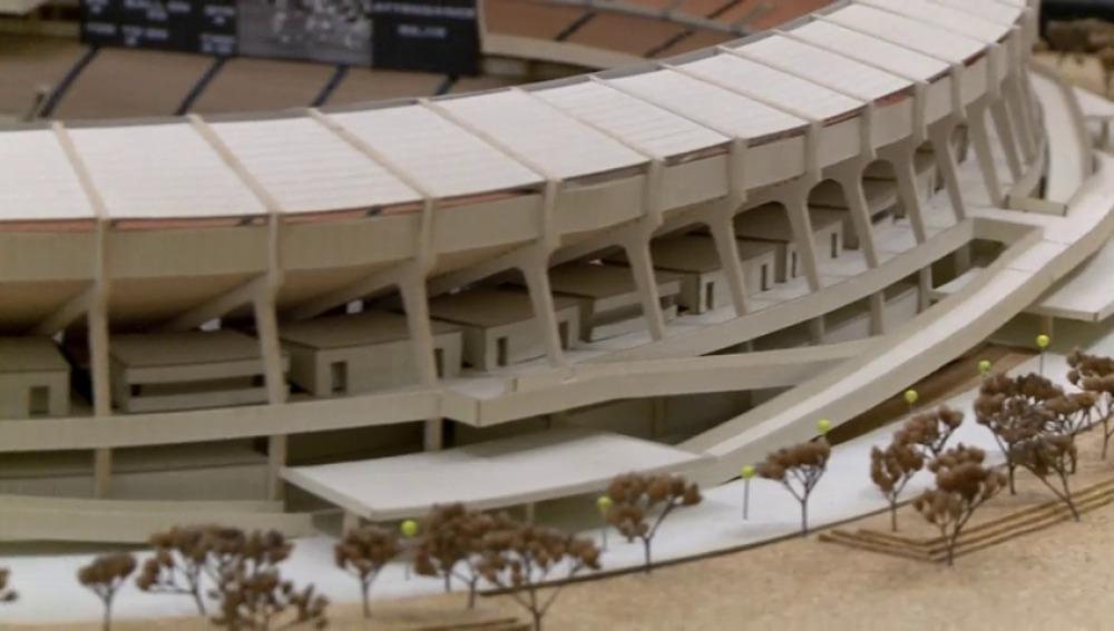 Frame 40.790066 de: La maqueta original del estadio de los Miami Dolphins en venta por 6.000 dólares