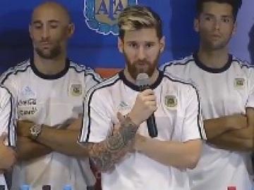 El comunicado de la selección argentina