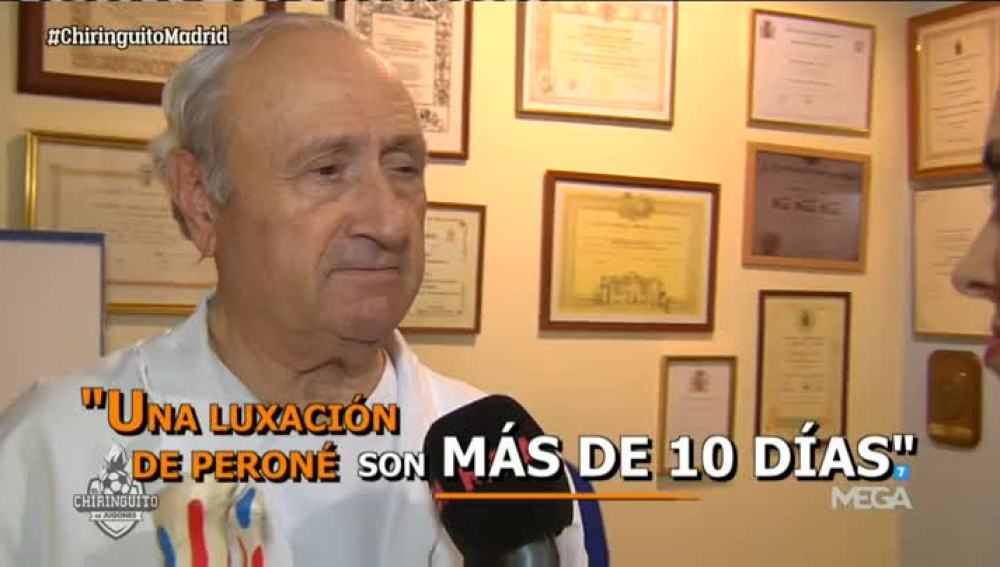 El Doctor Guillén, sobre Bale