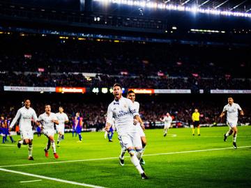 Sergio Ramos celebrando