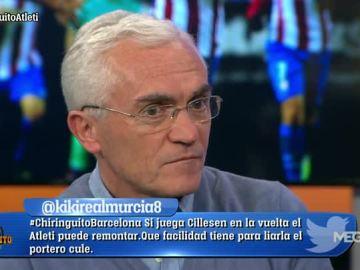 Caridad, sobre Fernando Torres y Simeone
