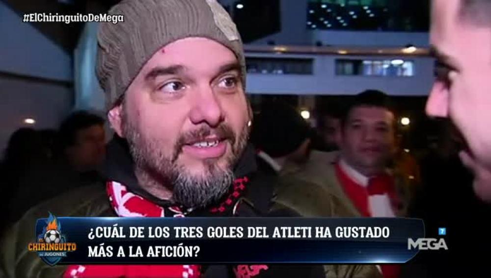 ¿Cuál de los tres goles ha gustado más a la afición del Atleti?