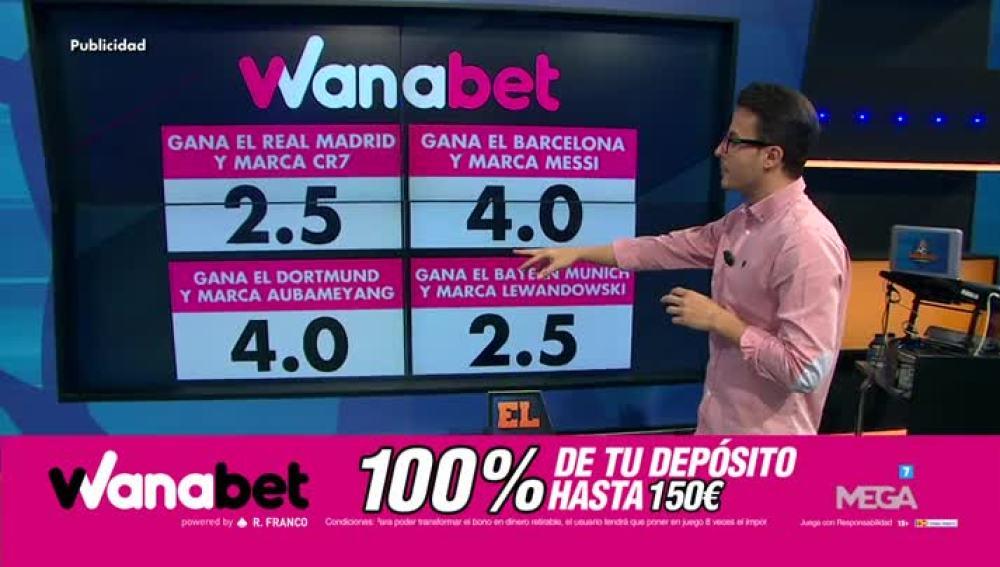 Juanfe Sanz con Wanabet