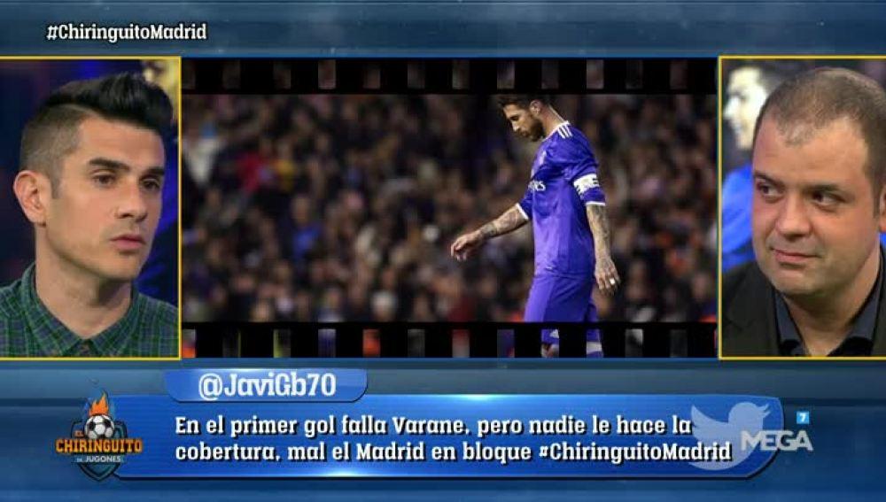 Ramos, a debate en El Chiringuito