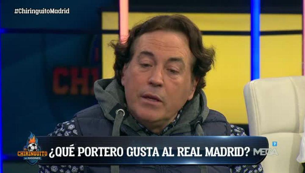Pipi Estrada desvela qué portero gusta al Real Madrid