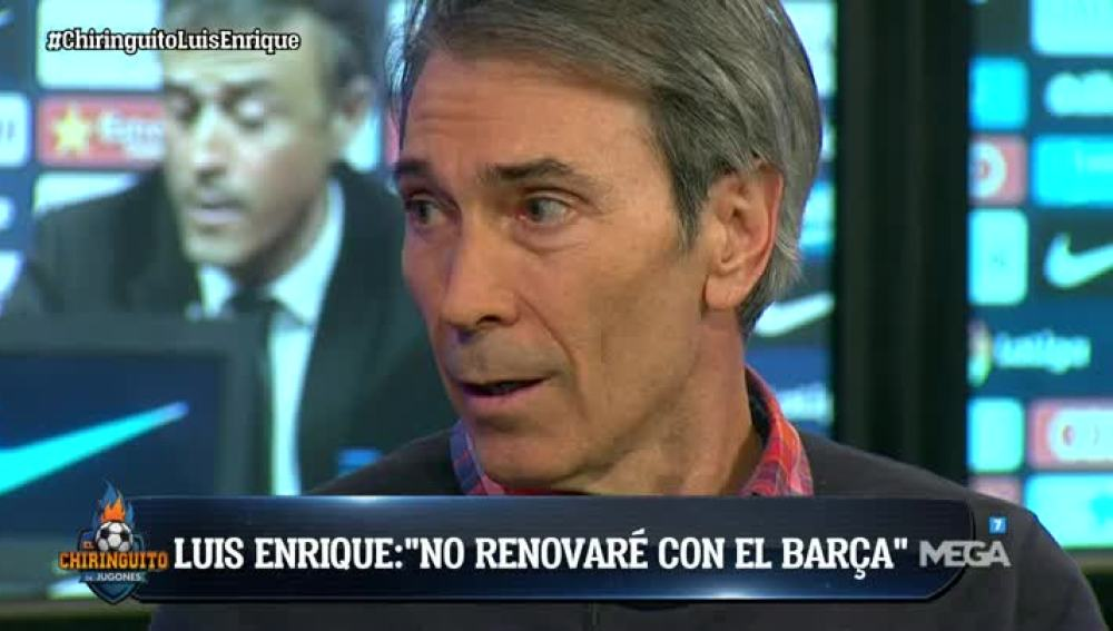 Lobo Carrasco sobre Luis Enrique