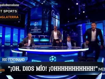 Así se vivió el gol de Sergi Roberto