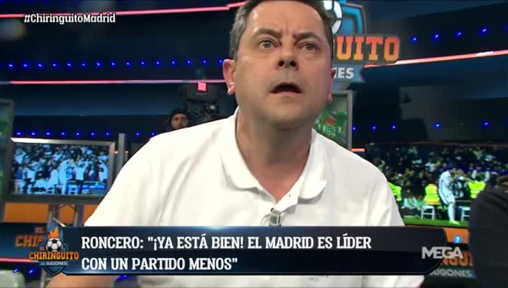 Roncero explota por el Madrid