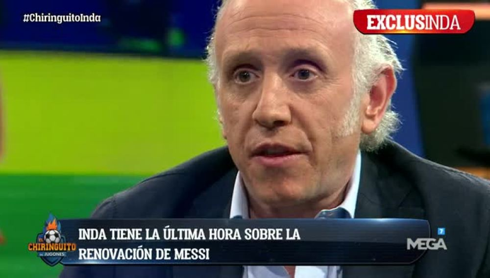 Exclusinda sobre Messi
