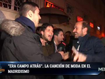 El madridismo, eufórico con la victoria del Madrid ante el Barça en Euroliga